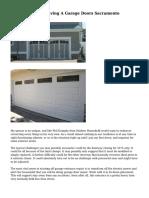The Mishaps Of Having A Garage Doors Sacramento