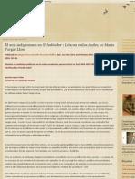 El Anti indigenismo en Vargas Llosa