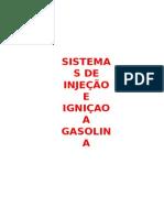 Sistemas de Injeçao e Igniçao