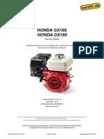 Honda Engine GX160