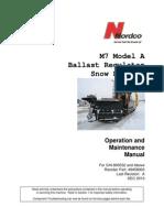 Ballast Regulator m 7 Operation Manual 49458003