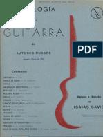 Album - Antologia de Autores Russos - Arr. I. Savio