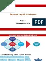 Persoalan Logistik Di Indonesia - Aviliani Ekonom Universitas Indonesia