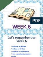 Self Study Week 6 Basic