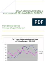 Economia e Politica Del Lavoro Presentazione Modena