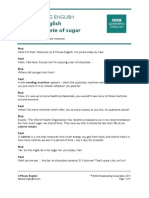 Discussion about sugar