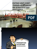 UNIT COST-peran Penting Kebijakan 27 Maret 2013