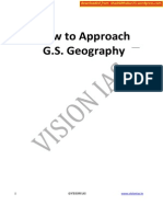 How to Approach Gs Geography