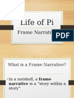 Lif of Pi- Frame Narrative