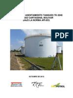 Informe TK 3040 TK 3052