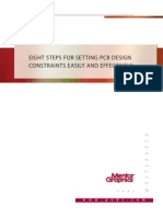 Eight Steps for Setting PCB Design Constraints Easily and Effectively