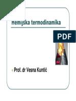 Hemijska termodinamika 1