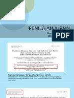 contoh penilaian jurnal (SOT)