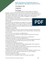 Instruction Du 26-03-1969 Fonctionnement Des Regies