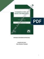 Apuntes Introducción Derecho Procesal. T1-22. 2013-2014. Sonia
