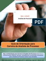 Guia de Orientação Para Carreira de Analista de Processos v6