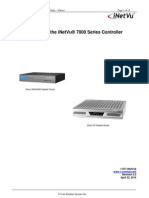 INetVu Quickstart Guide for 7000 Series Controller - IDirect (V2.3)