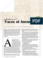Fortification and the 'Faces of Anemia' campaign