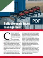 Reliable grain inventory management