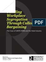 Tackling Workplace Segregation Through Collective Bargaining