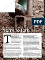 Integrity across the 'farm to fork' chain