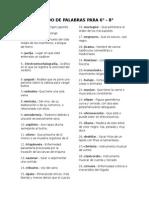 LISTADO DE PALABRAS PARA 6.docx