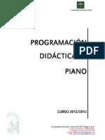 Programacin Didactica de Piano_Granada