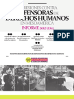 Informe 2012-2014 de Agresiones contra Defensoras de DDHH en Mesoamérica