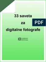 33 Saveta Za Digitalne Fotografe