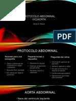 pp protocolo abdominal aorta ivc