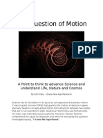 The Question of Motion