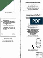 Tolerancias, Ajustes, Desvios e Analise de Dimensões - Agostinho PT