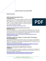 Boletín de Noticias KLR 07OCT2015