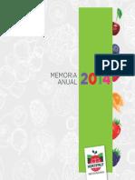 Memoria Anual Hortifrut S.a 2014