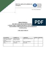 Procedura Metodisti 2015
