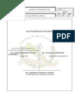 Manual de Organizacion de Campos Clinicos