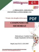 MemoriasRutaPedagogicaAmigoniana2015