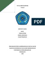 Tugas Biostatistik Versi Bayu