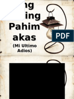 Ang Huling Pahimakas