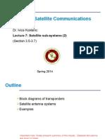 Antennas and Transponders