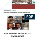 Civil Military Relations