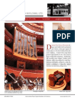 Prospectus Dobson Pipe Organ Builders, Ltd