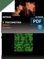 1-A Introduccion a La Psicológica y Psicometría