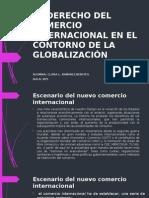 El Derecho Del Comercio Internacional en El Contorno