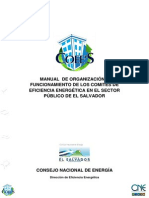 Manual de Organización y Funcionamiento de COEE 2012