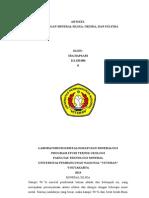 Artikel Mineral Silika, Oksida, Sulfida