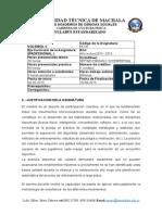 CA-FCE - UTMACH Sillabus de Ciencias Sociales Volley