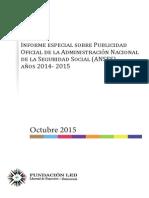 Fundacion LED Informe ANSES 2014 2015