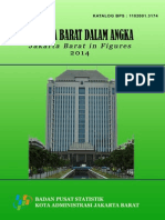 Jakarta Barat Dalam Angka 2014