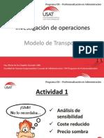 Sesión 03 - Aplicaciones de PL Transporte y Asignación